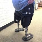 new prosthetic legs