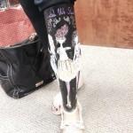 feminine prosthetic leg